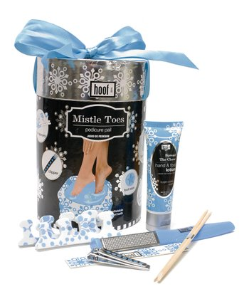 Hoof Black Mistle Toes Pedicure Set