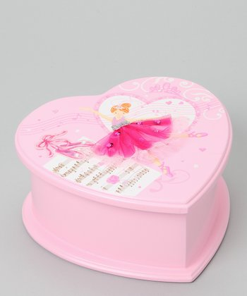 Dance Musical Jewelry Box