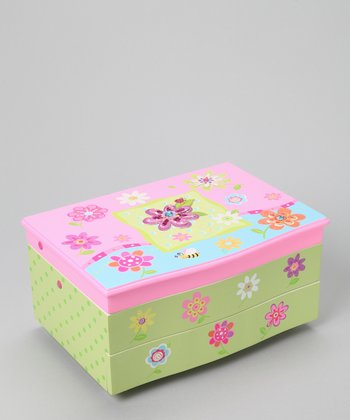 Daisy Magical Twinkling Lights Jewelry Box