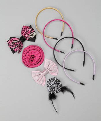 Bling Headband & Bow Set