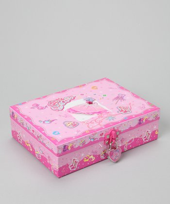 'Princess' Locking Stationery Box