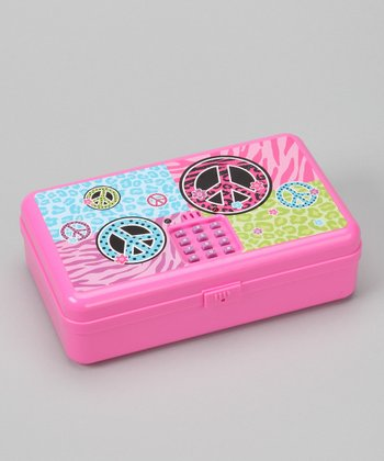 Pink 'Peace' Digital Treasure Box