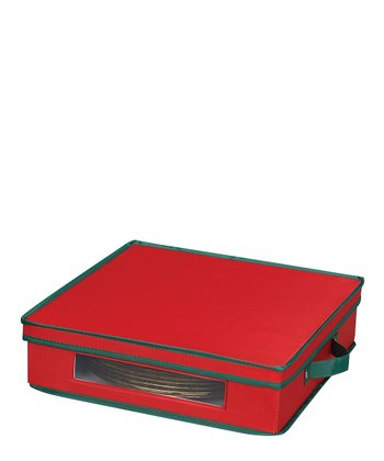 Red & Green Charger Plate Chest