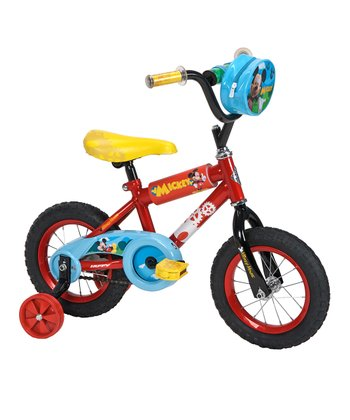 Huffy Red & Blue Mickey Mouse 12'' Bicycle