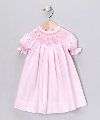 Pink Bishop Dress - Toddler
