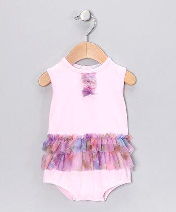 Pink Patty Ruffle Skirted Bodysuit - Infant