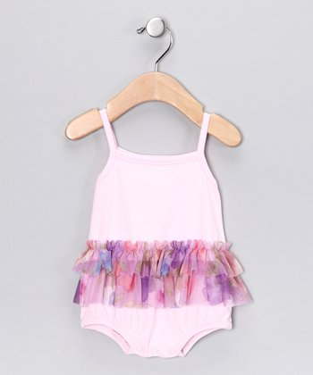 Pink Patty Skirted Bodysuit - Infant