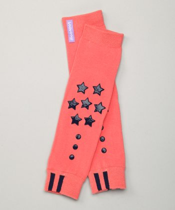 Engage Orange Grip Advantage Leg Warmers