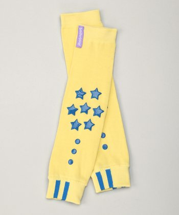 Energize Yellow Grip Advantage Leg Warmers