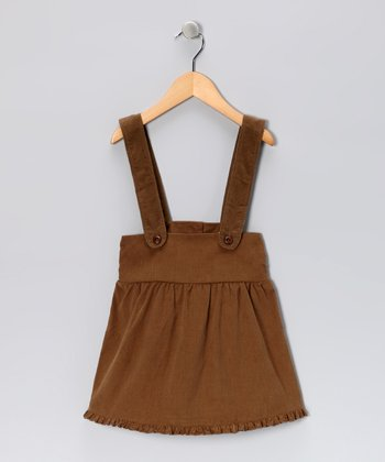 Brown Corduroy Jumper - Toddler