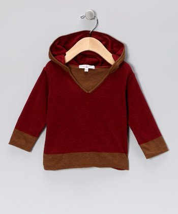 Cranberry Hoodie - Infant & Toddler