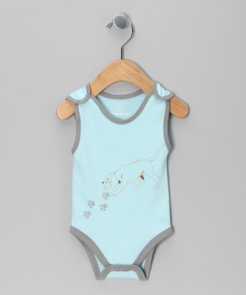 Blue Dog Bodysuit - Infant