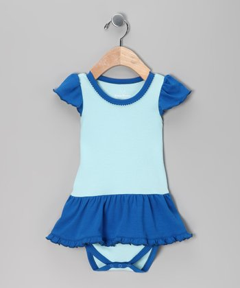 Blue Skirted Bodysuit - Infant