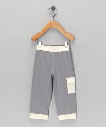 Gray Pocket Pants - Infant & Toddler