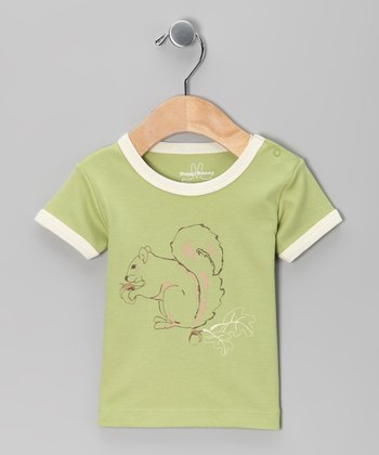 Green Squirrel Tee - Infant & Toddler