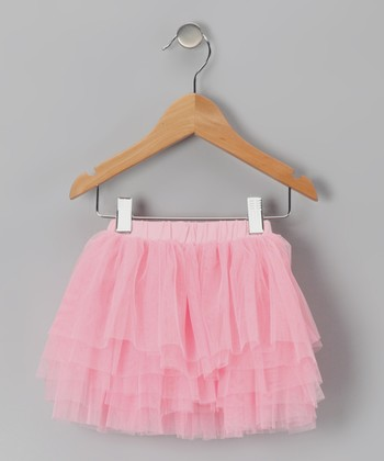 Light Pink Tutu Skirt - Toddler & Girls