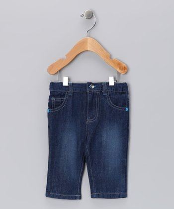 Hurley Blue Straight-Leg Jeans - Infant