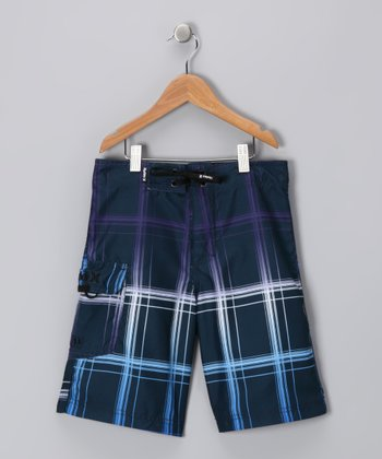 Navy Legacy Boardshorts - Boys