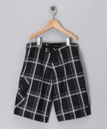 Black Puerto Rico Boardshorts - Infant