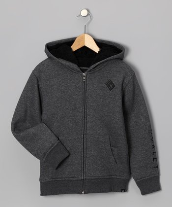 Coal Sherpa Zip-Up Hoodie - Boys