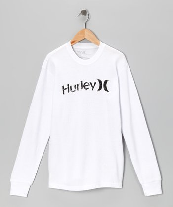 White & Black 'Hurley' One & Only Thermal - Boys