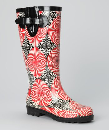 Blossom Splash Rain Boot