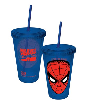 Blue Spider-Man Tumbler