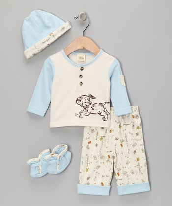 Blue Take Me Home Pants Set - Infant