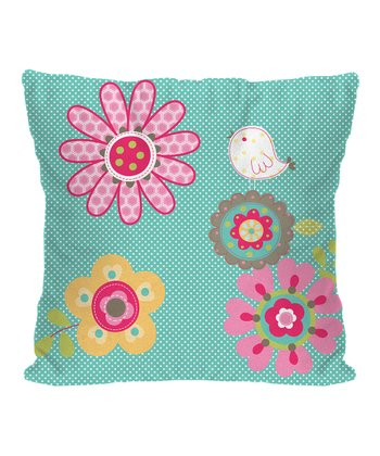 Patchwork Birdie Pillow - Set of Two