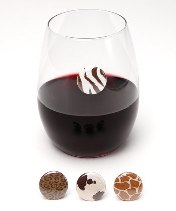 Sahara Wine Charm Set