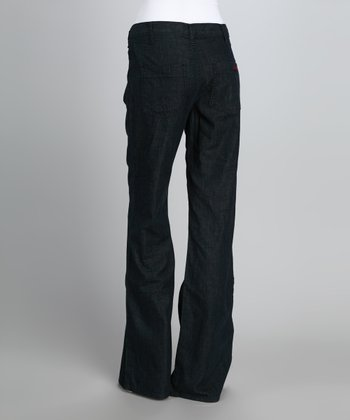 Dark Blue Trouser Jeans
