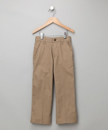 Indigo Star Khaki Odelay Chino Pants - Toddler & Boys