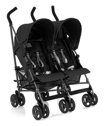 Black Swift Double Stroller