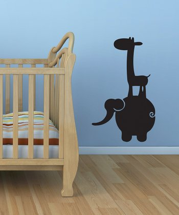 Black Jungle Buddies Wall Decal