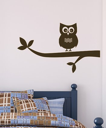 Brown Look Out Wall Decal Set