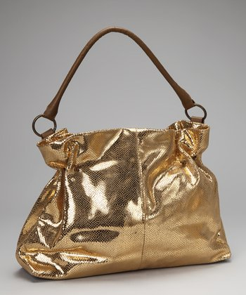 Gold Glam Shoulder Bag