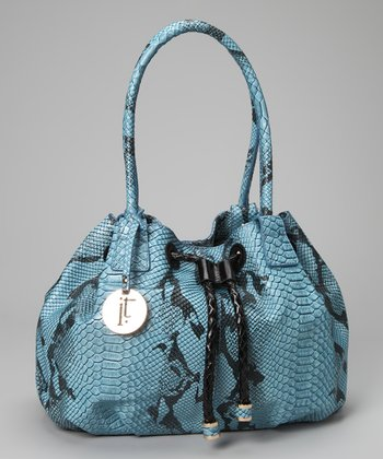 Blue Daphine Satchel