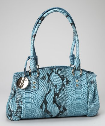 Blue Lena Shoulder Bag