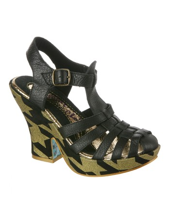 Black Mumba Leather Sandal