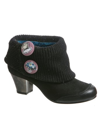 Black Say Yes Bootie