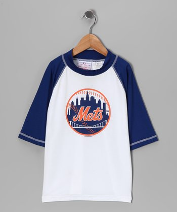 MLB New York Mets Rashguard - Boys