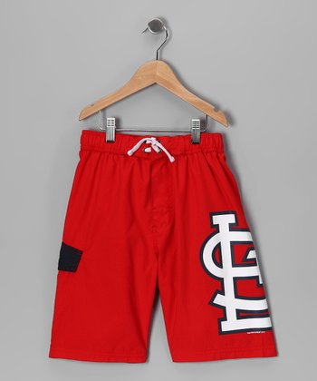 MLB St. Louis Cardinals Swim Trunks - Toddler & Boys