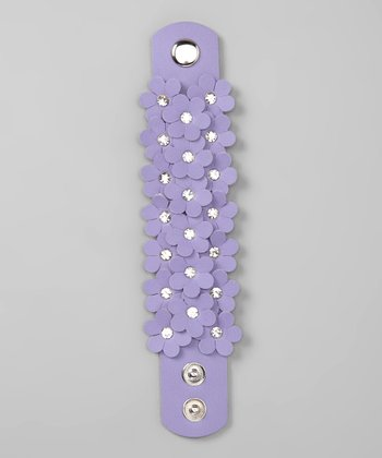 Purple Samantha Cuff