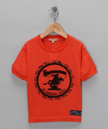 Orange Winchester Vintage Tee - Infant, Toddler & Boys