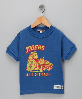 Blue 'Tigers' Tee - Infant, Toddler & Boys
