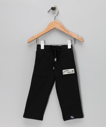Black French Terry Pants - Infant, Toddler & Boys