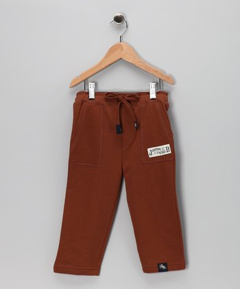 Brown French Terry Pants - Infant, Toddler & Boys