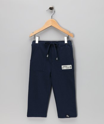 Navy French Terry Pants - Infant, Toddler & Boys