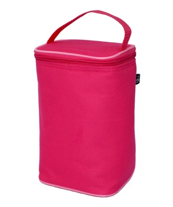 Pink & Light Pink TwoCOOL Two-Bottle Insulated Tote