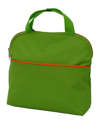 Green & Orange MaxiCOOL Four-Bottle Insulated Tote